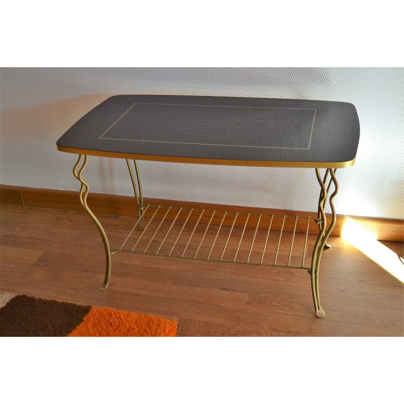 table basse sixties vintage 1960s. Black Bedroom Furniture Sets. Home Design Ideas