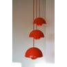 """Suspension """"Flowerpot"""" Louis Poulsen, Verner PANTON - 1960's"""