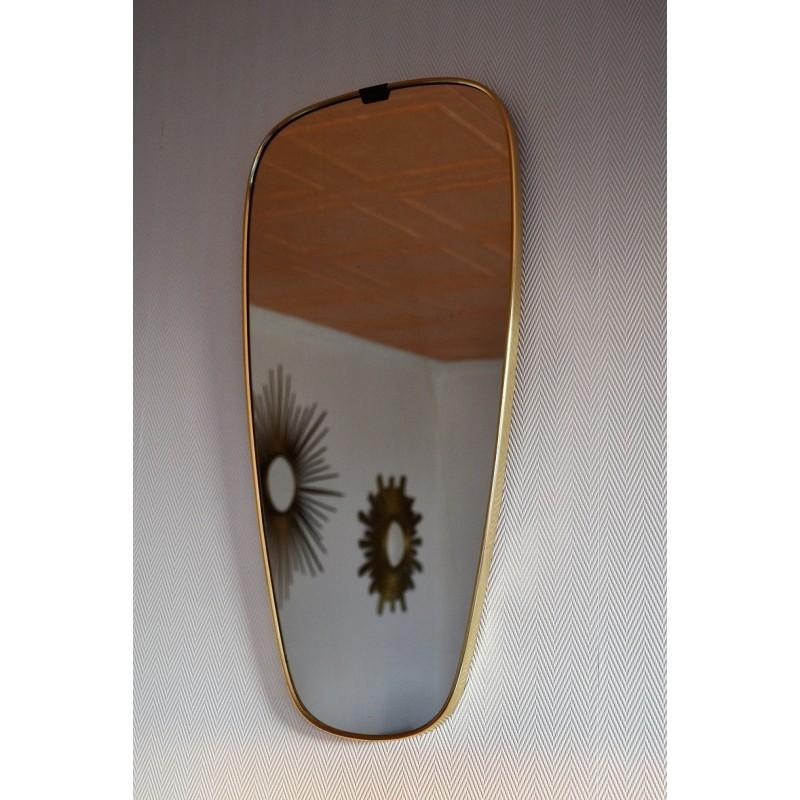 Miroir rétroviseur des années 50 - 60