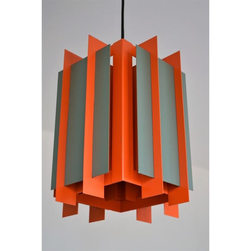 lampe-suspension-lyfa-Octagon-1960-bent-karlby