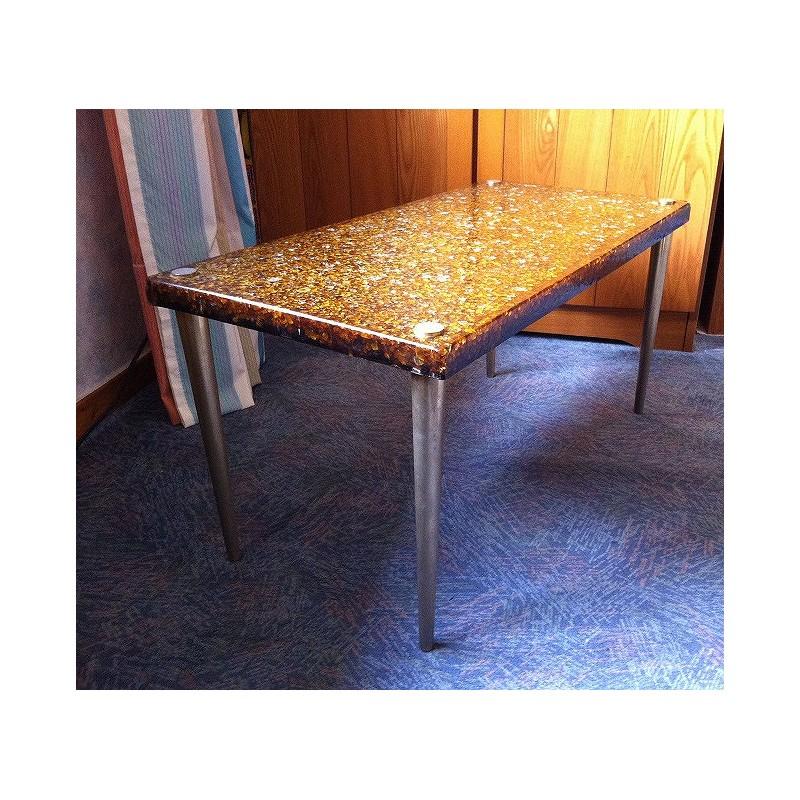 table-fractale-pierre-giraudon-1970