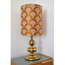 Lampe de table dorée des...