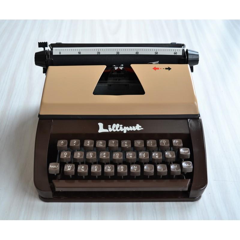 Machine à écrire Lilliput des années 70