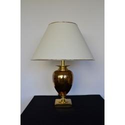 Lampe Le Dauphin dorée