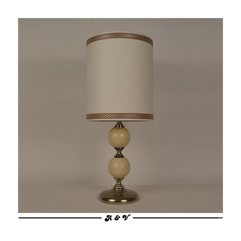 Lampe à poser CHEVRON vintage 70s