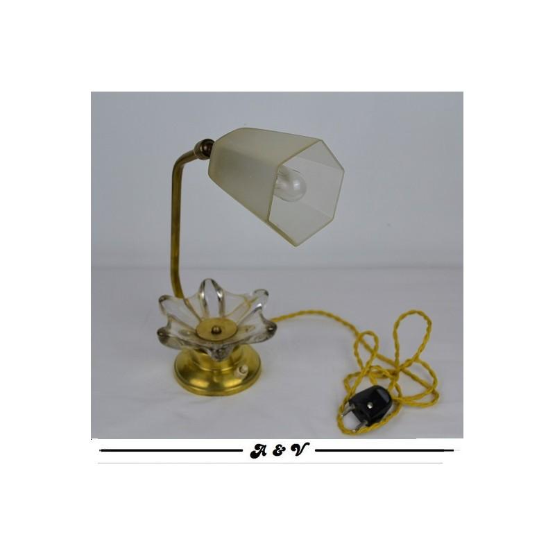 Lampe vide poche vintage des années 50