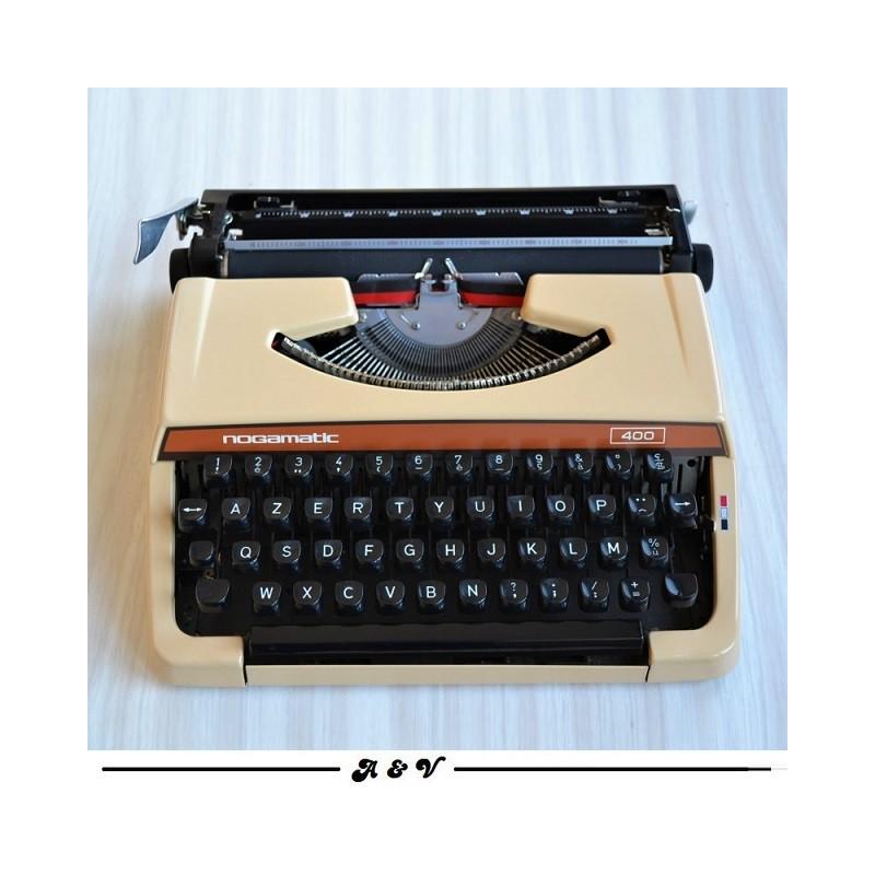 Machine à écrire BROTHER Nogamatic400 - vintage 70s + ruban NEUF