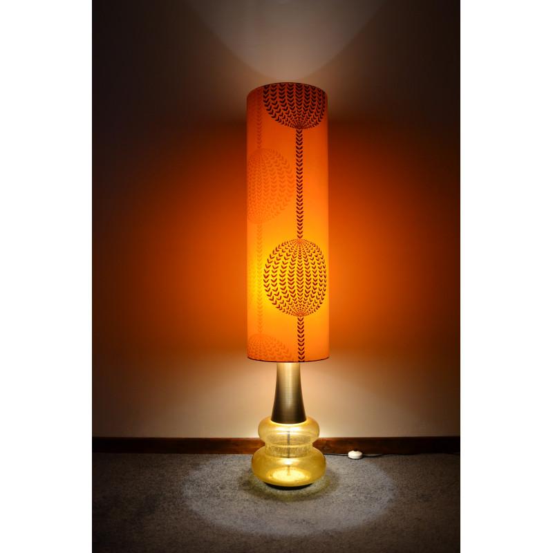 Lampe de sol vintage Doria Leuchten 60 70