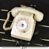 Téléphone vintage Socotel S63 à cadran, 1983, France