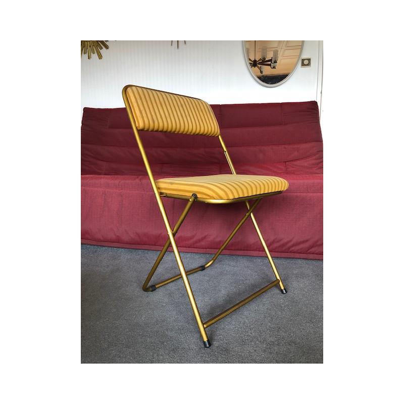 Chaise pliante Lafuma années 60