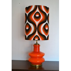 Lampe opaline vintage 1970's