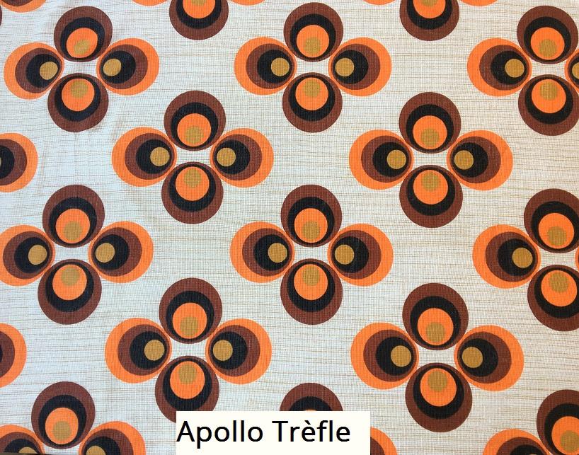 tissu vintage apollo-trefle
