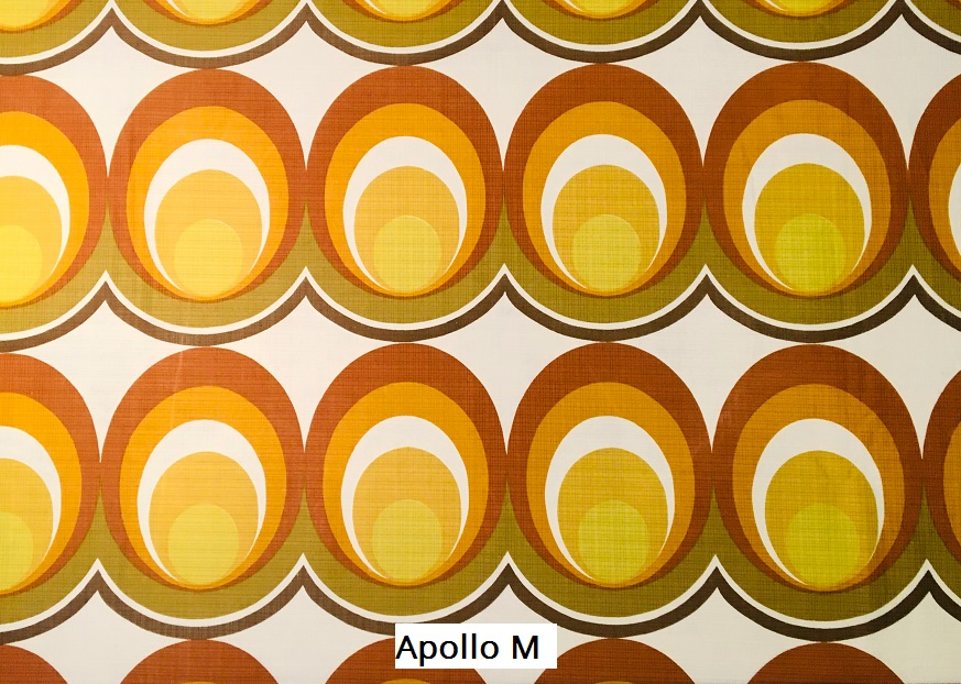 tissu vintage apollom
