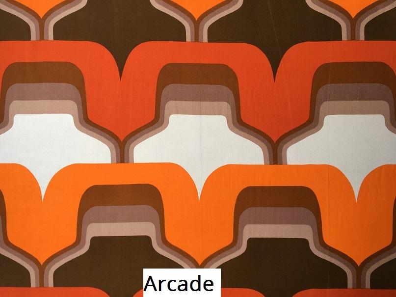 tissu vintage Arcade