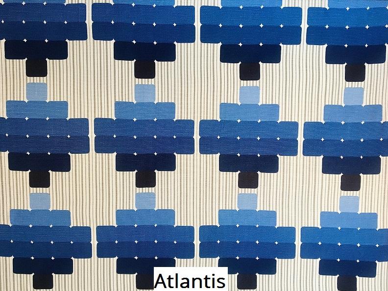 tissu vintage atlantis
