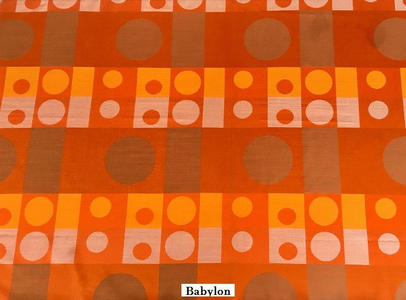 tissu vintage babylon