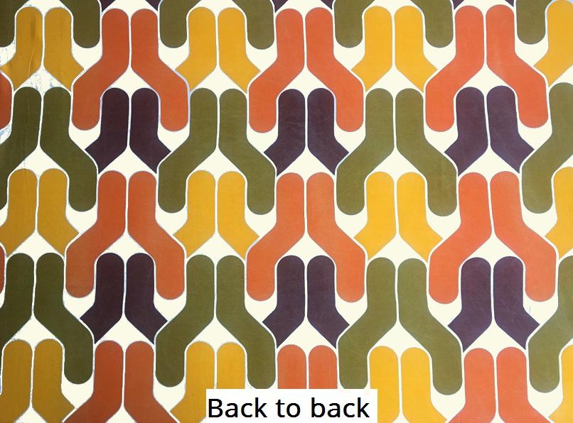 tissu vintage back-to-back