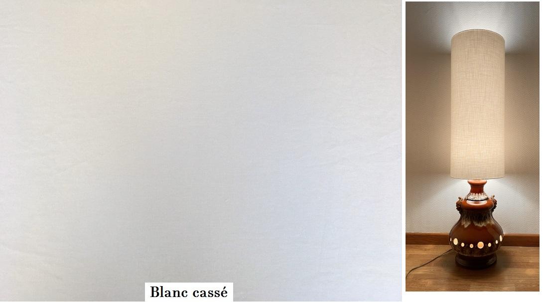 tissu vintage blanc-casse