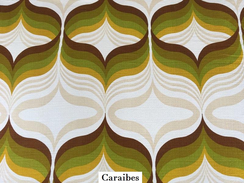 tissu vintage caraibes