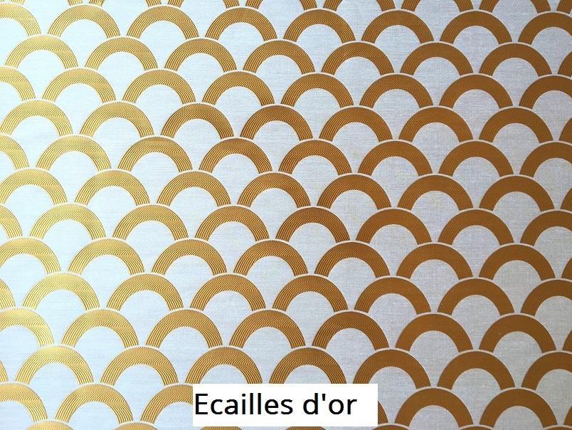 tissu vintage ecailles