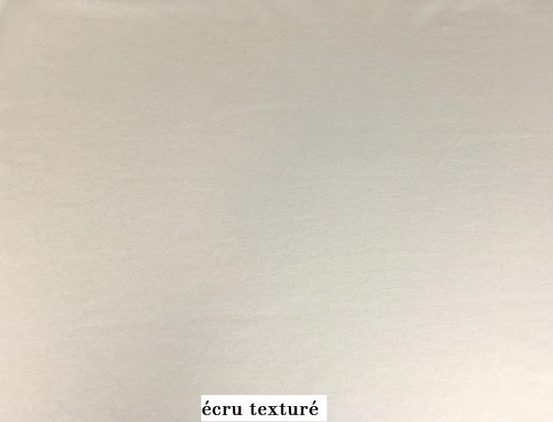 tissu vintage ecru-enduit