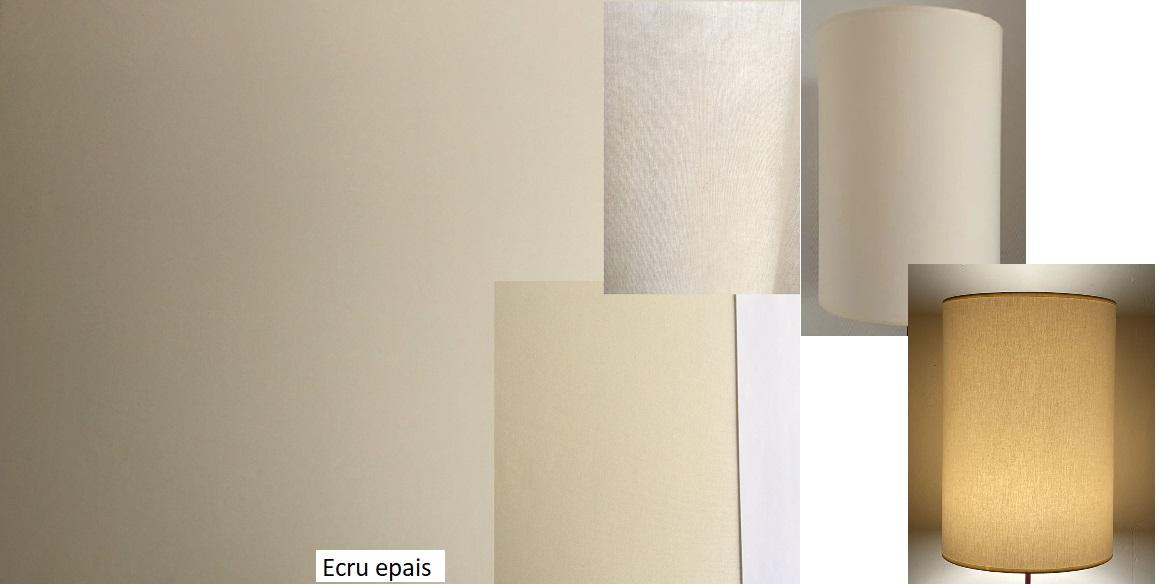 tissu vintage ecru-epais