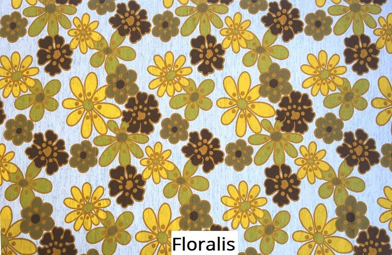 tissu vintage floralis