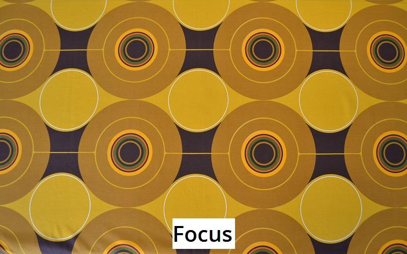 tissu vintage focus