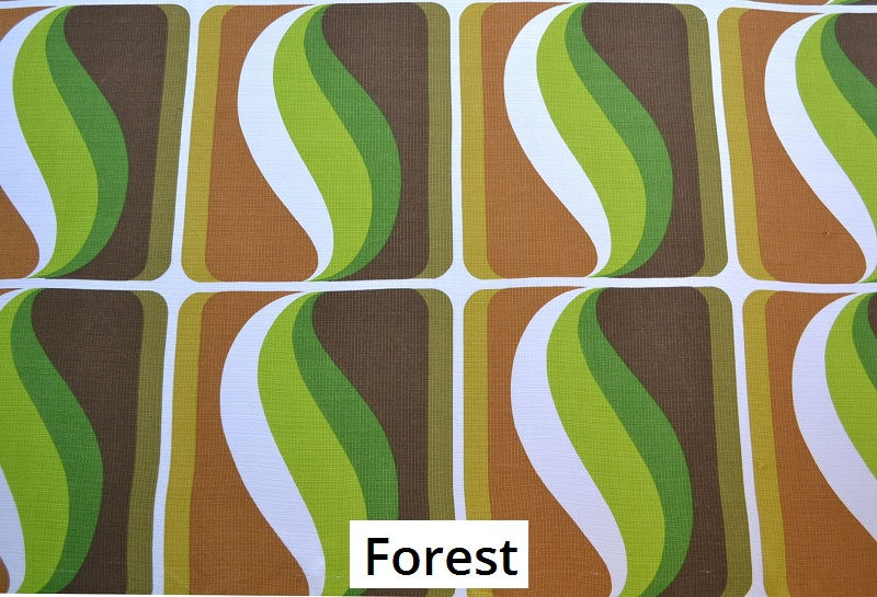 tissu vintage forest