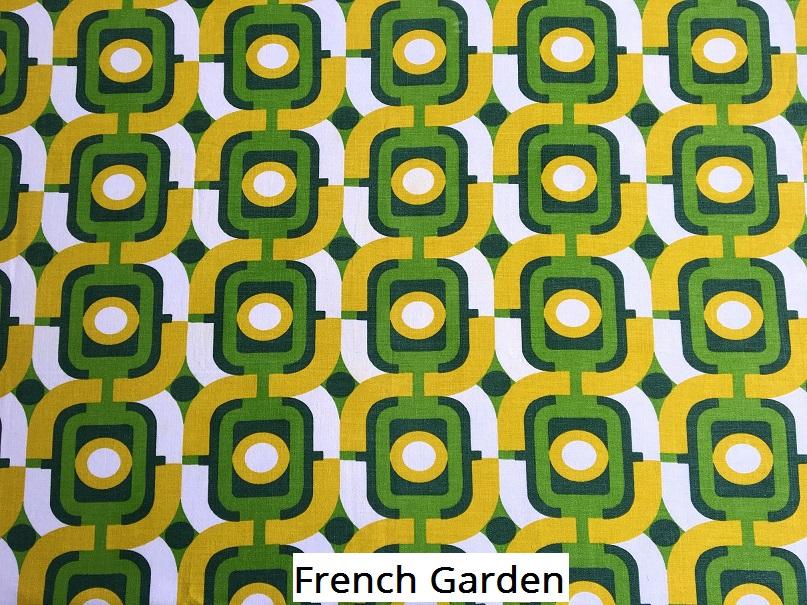 tissu vintage french-garden