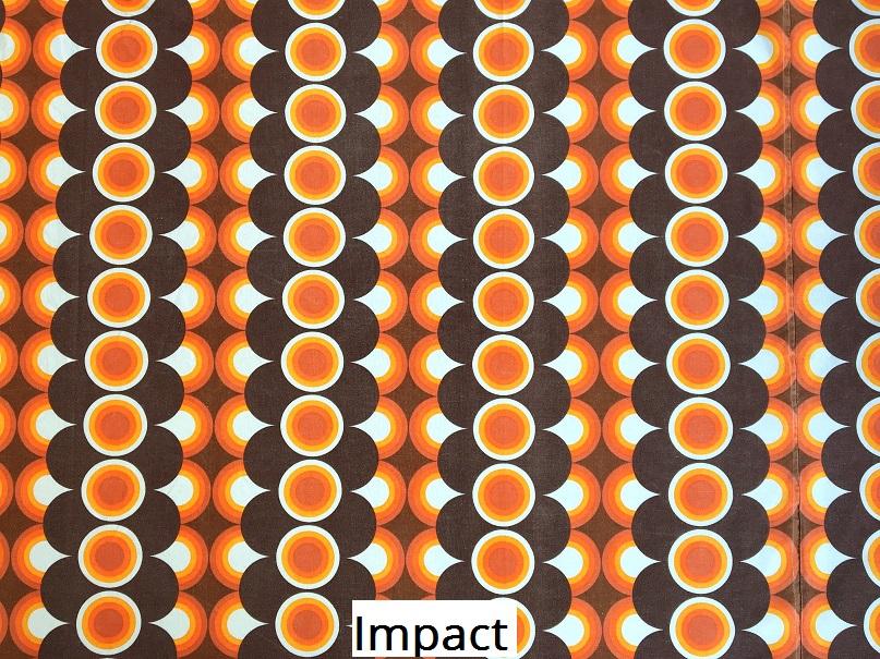tissu vintage impact