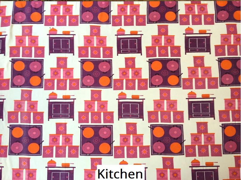 tissu vintage kitchen
