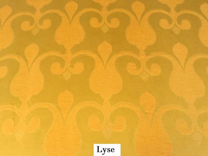 tissu vintage lyse