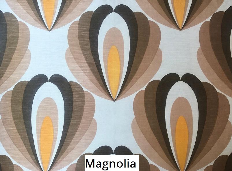 tissu vintage magnolia