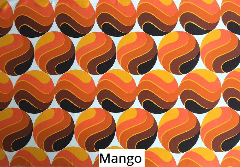tissu vintage mango