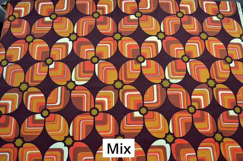 tissu vintage mix