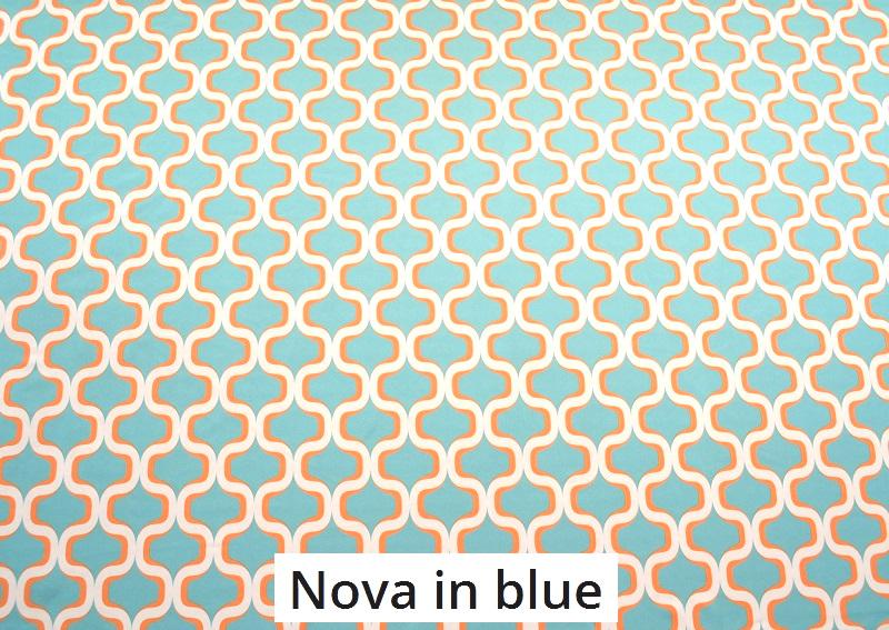 tissu vintage novainblue