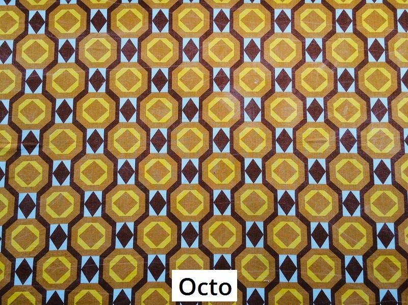 tissu vintage octo