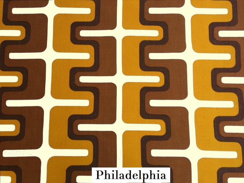 tissu vintage philadelphia
