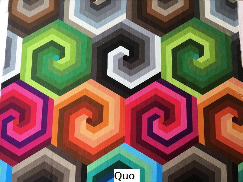 tissu vintage Quo