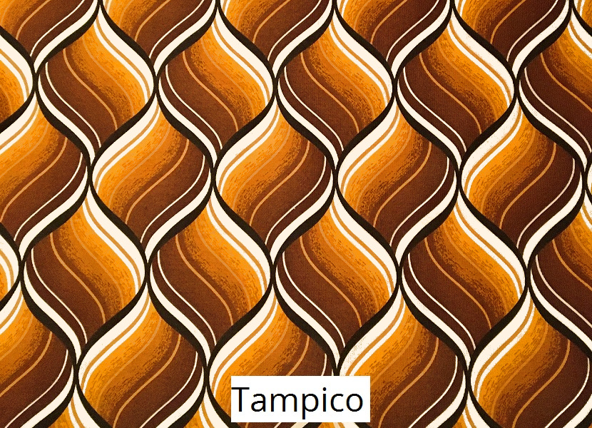 tissu vintage tampico