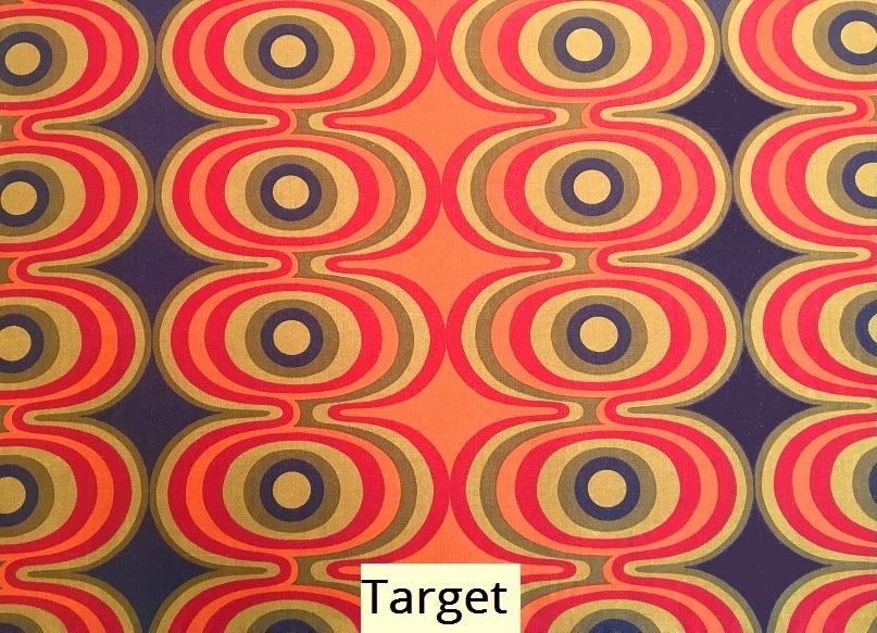 tissu vintage target