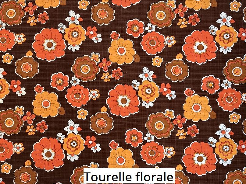tissu vintage tourelle