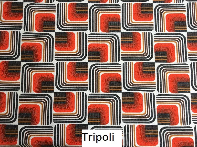 tissu vintage tripoli