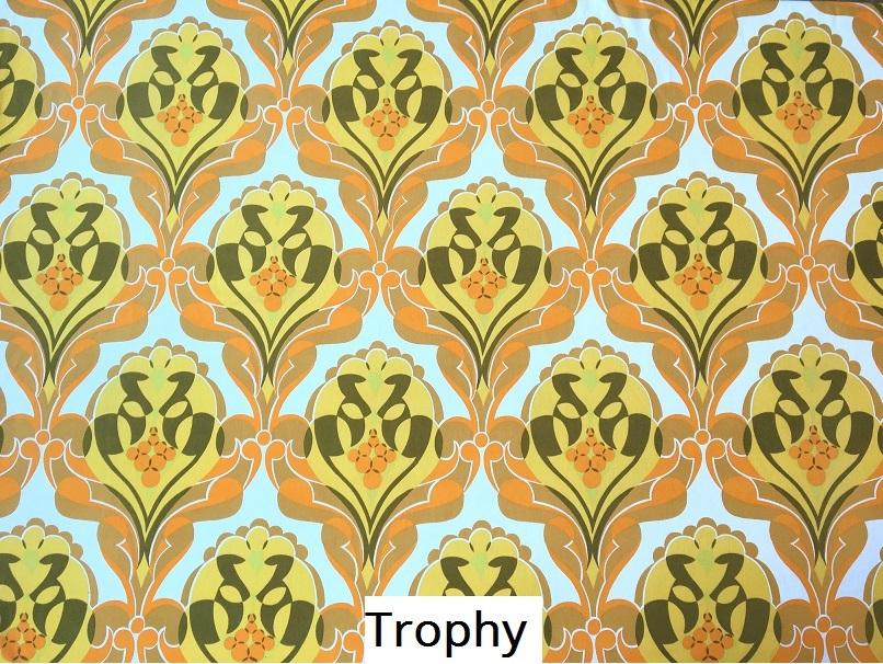 tissu vintage trophy